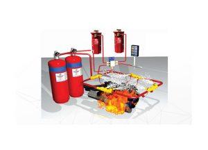Fire Suppression System untuk tambang